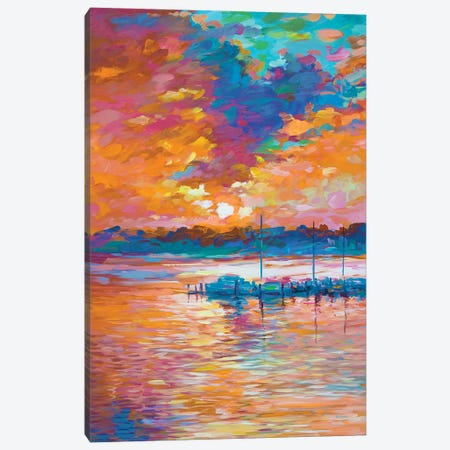 Reflections Of Passion Canvas Print #DVI189} by Leon Devenice Canvas Artwork