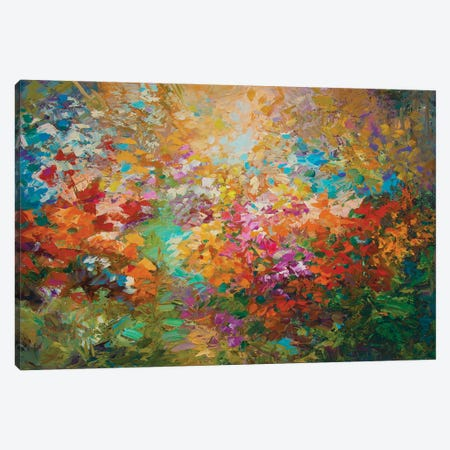 The Glory Of Spring Canvas Print #DVI190} by Leon Devenice Canvas Print