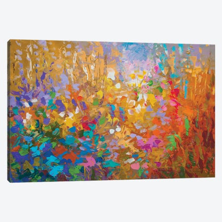 Energy And Vibrancy Canvas Print #DVI192} by Leon Devenice Canvas Art Print