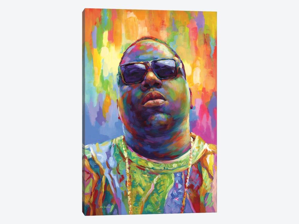 Notorious by Leon Devenice 1-piece Canvas Art Print