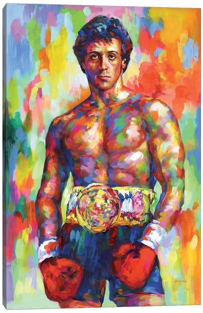 The Italian Stallion Canvas Art Print