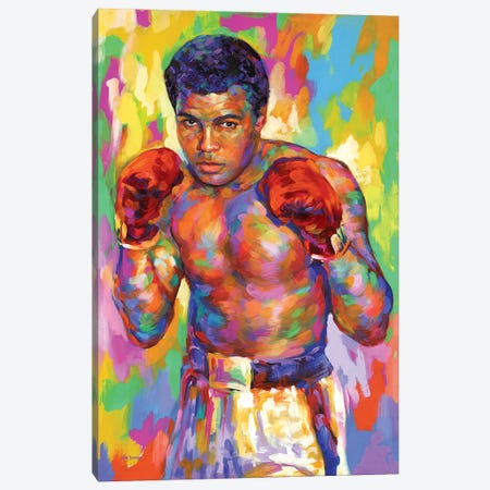 Ali Canvas Print #DVI205} by Leon Devenice Canvas Art