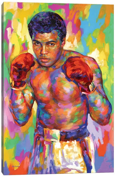 Ali Canvas Art Print