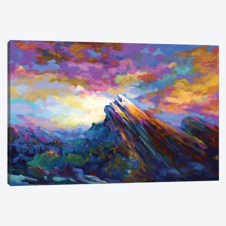 Vasquez Rocks, Agua Dulce, California Canvas Print #DVI206} by Leon Devenice Canvas Artwork