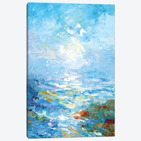 Morning Bliss Canvas Print #DVI215} by Leon Devenice Art Print