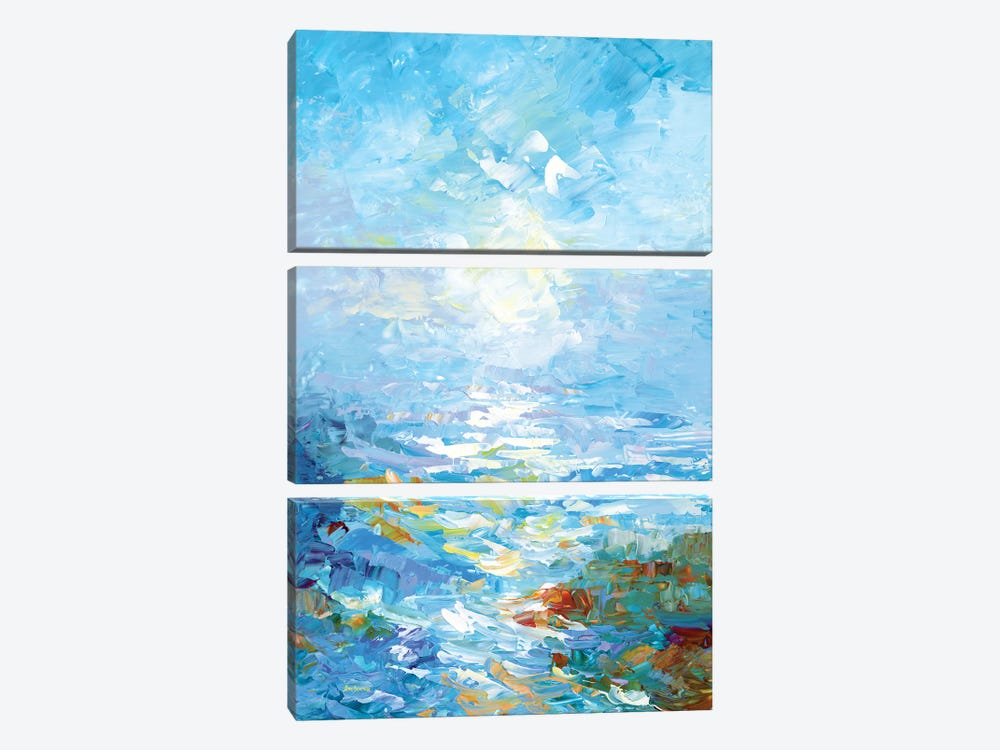 Morning Bliss by Leon Devenice 3-piece Canvas Wall Art