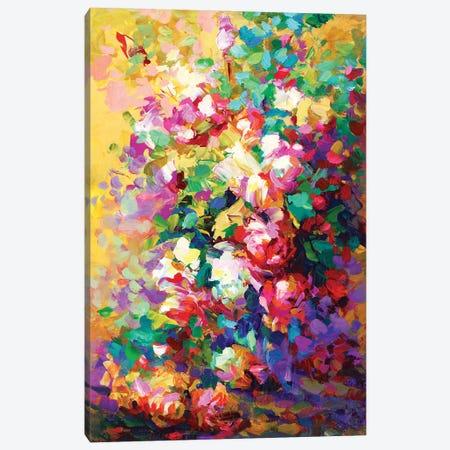 Roses Canvas Print #DVI217} by Leon Devenice Art Print