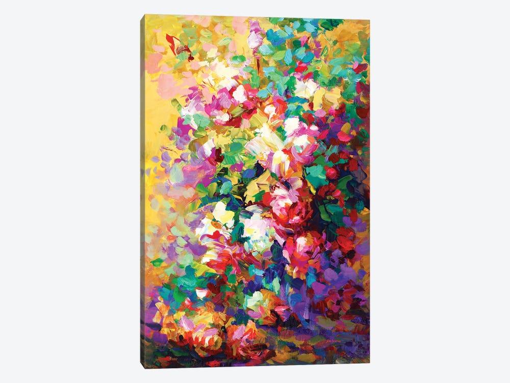 Roses by Leon Devenice 1-piece Canvas Art