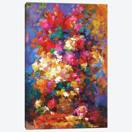 Thinking Of You Canvas Print #DVI218} by Leon Devenice Canvas Art