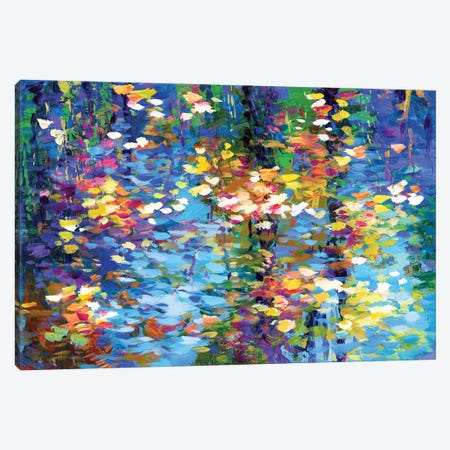 Autumn Reflections I Canvas Print #DVI219} by Leon Devenice Canvas Art
