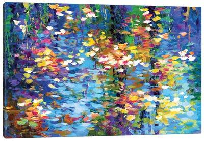Autumn Reflections I Canvas Art Print