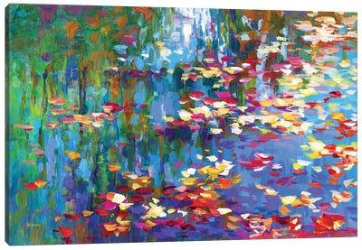 Autumn Reflections II Canvas Art Print
