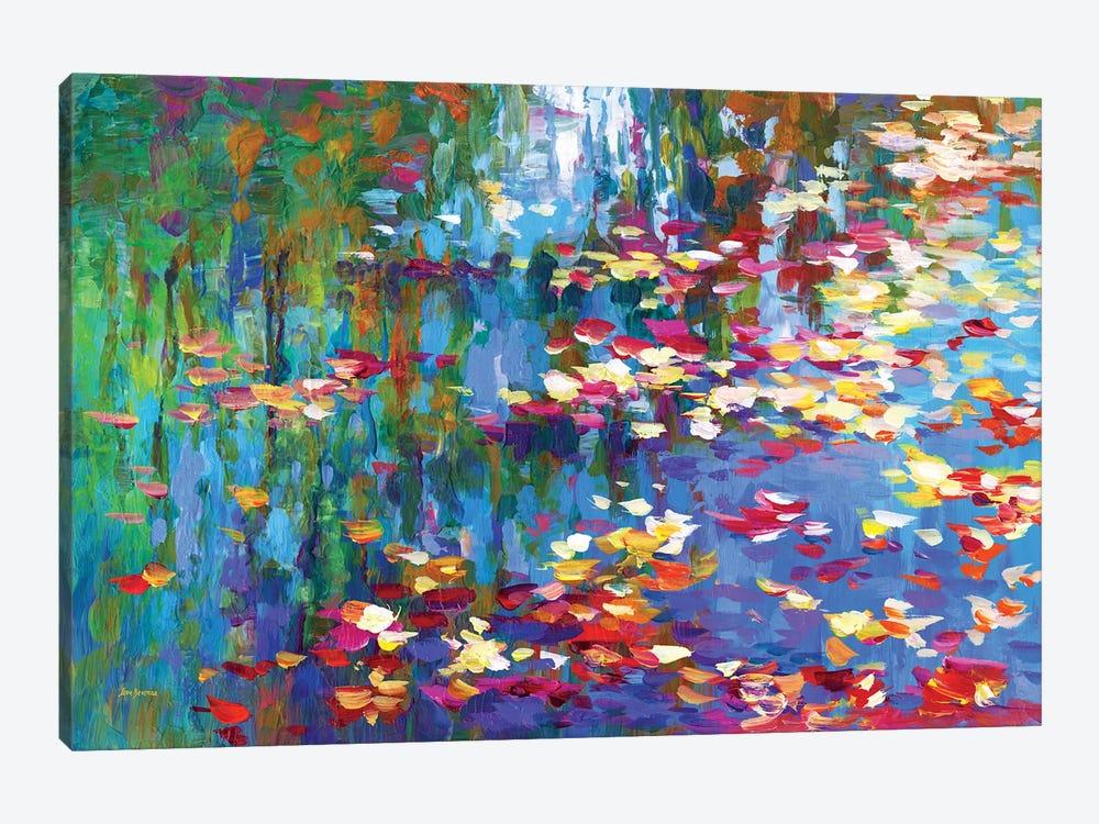 Autumn Reflections II by Leon Devenice 1-piece Canvas Wall Art