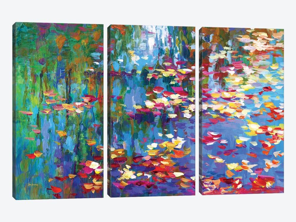 Autumn Reflections II by Leon Devenice 3-piece Canvas Art
