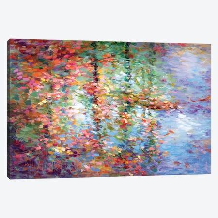 Autumn Reflections III Canvas Print #DVI227} by Leon Devenice Canvas Art