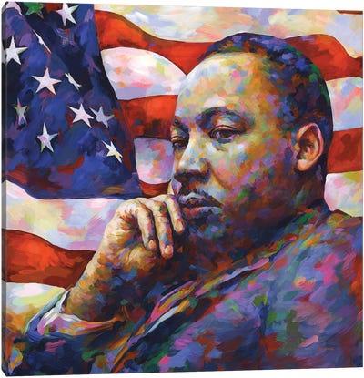 Martin Luther King Jr. Canvas Art Print