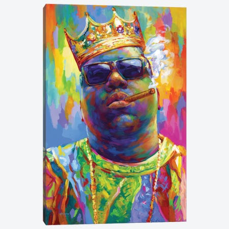 Notorious II Canvas Print #DVI232} by Leon Devenice Canvas Wall Art