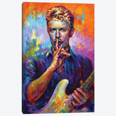 Bowie II Canvas Print #DVI243} by Leon Devenice Canvas Print