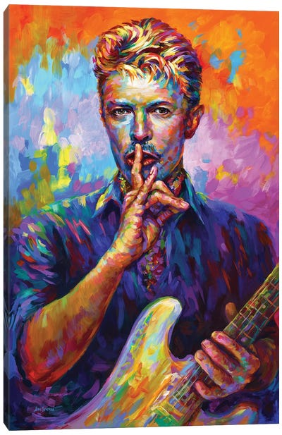 Bowie II Canvas Art Print