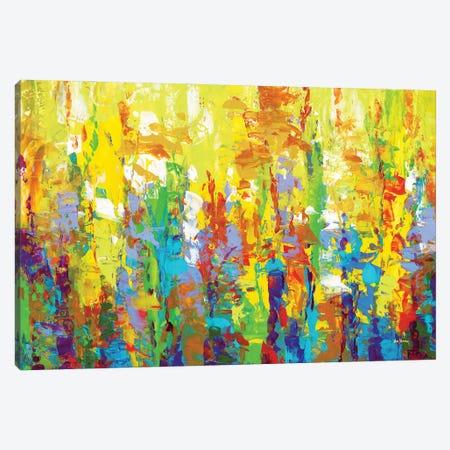 Happy Thoughts Canvas Print #DVI249} by Leon Devenice Canvas Art Print