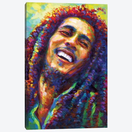 Marley II Canvas Print #DVI250} by Leon Devenice Canvas Artwork