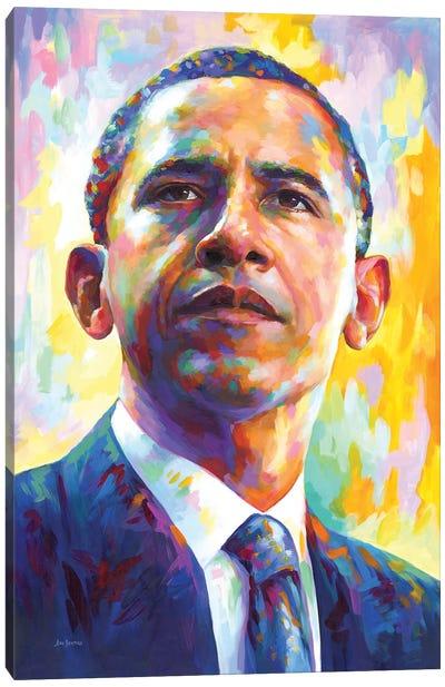 President Obama Canvas Art Print
