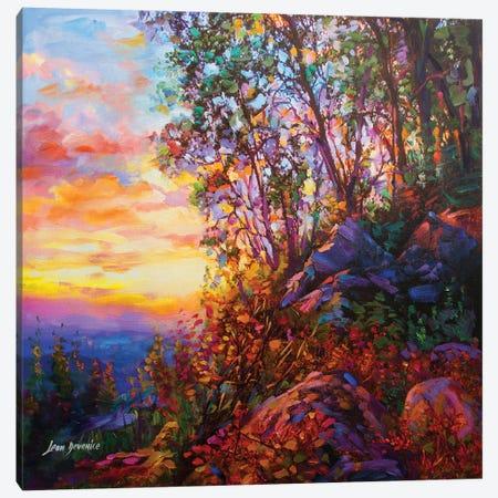 Evening Shade Canvas Print #DVI25} by Leon Devenice Canvas Wall Art