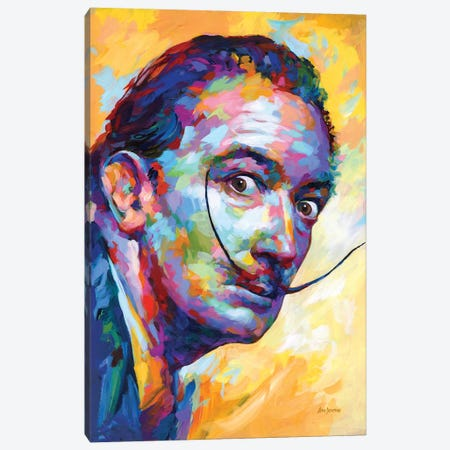 Dali Canvas Print #DVI266} by Leon Devenice Canvas Artwork