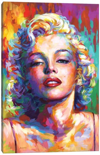 Marilyn Monroe V Canvas Art Print