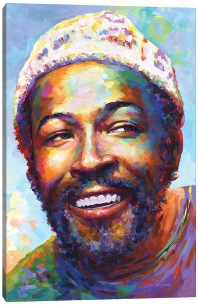 Marvin Gaye I Canvas Art Print