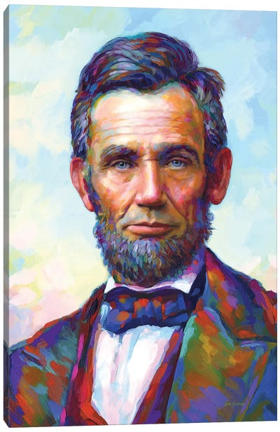 Abraham Lincoln II Canvas Art Print