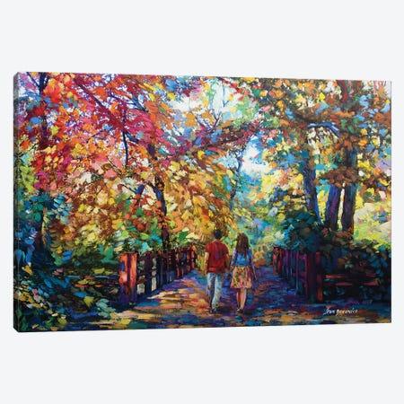A Love Story In November Canvas Print #DVI2} by Leon Devenice Art Print