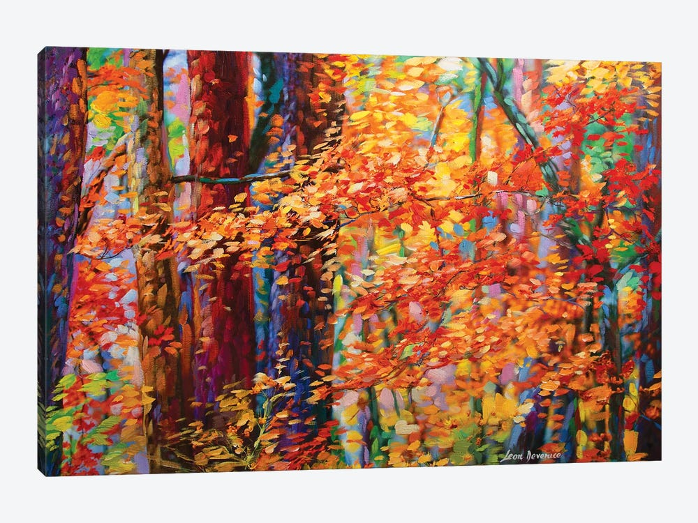 Forest Of The Heart by Leon Devenice 1-piece Canvas Artwork