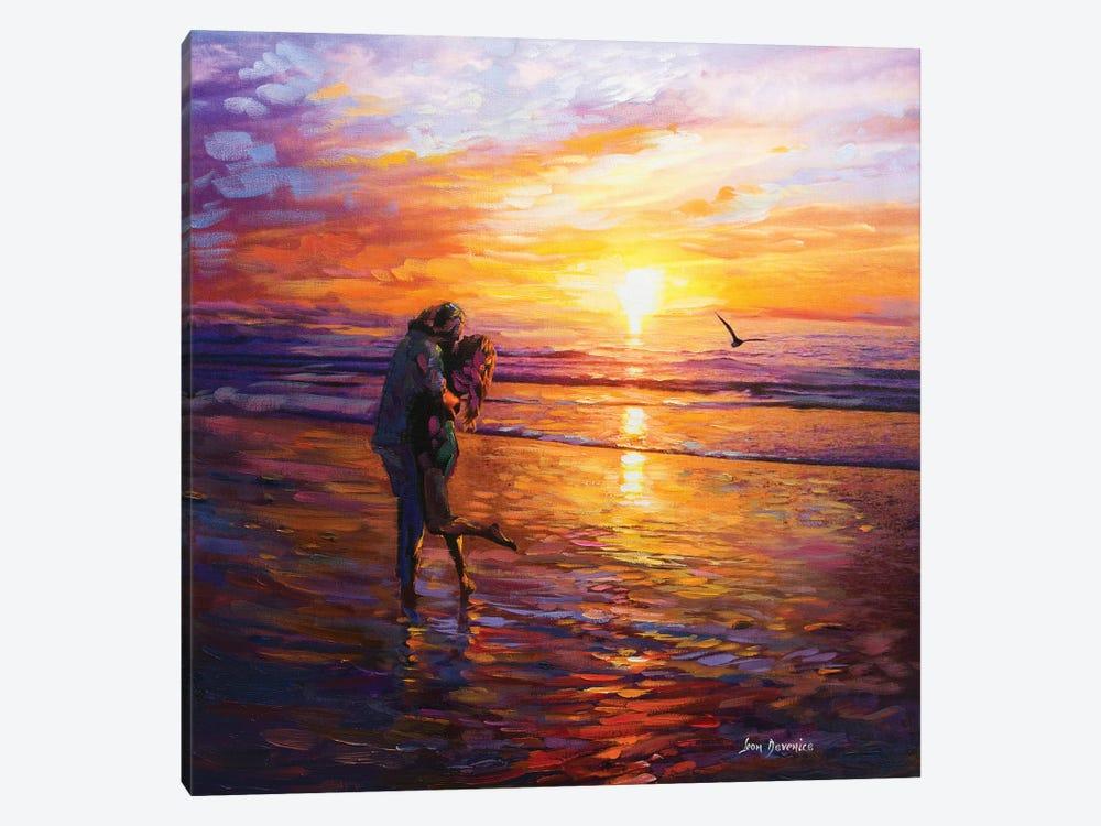 Forever Love by Leon Devenice 1-piece Canvas Print