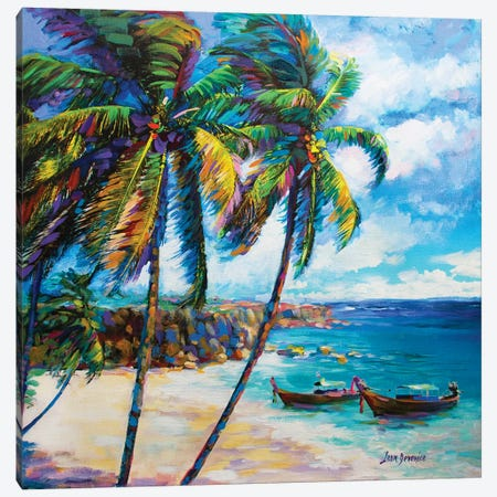 Hawaiian Dreaming Canvas Print #DVI38} by Leon Devenice Canvas Wall Art