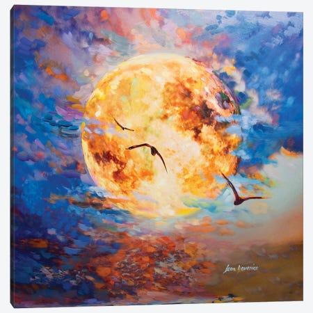La Luna Canvas Print #DVI43} by Leon Devenice Canvas Art Print