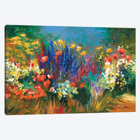 Language Of Flowers Canvas Print #DVI44} by Leon Devenice Canvas Art
