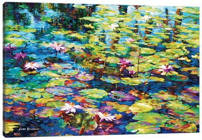 Lilies Of The Pond Canvas Art Print