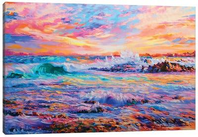 Memories In California Canvas Art Print