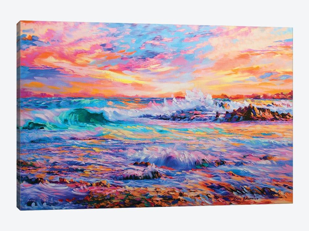 Memories In California by Leon Devenice 1-piece Canvas Artwork