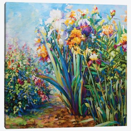 Morning Medidation Canvas Print #DVI54} by Leon Devenice Canvas Print