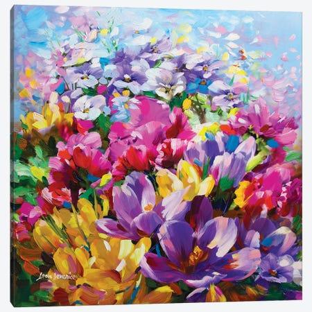 One Thousand Kisses Canvas Print #DVI58} by Leon Devenice Canvas Artwork