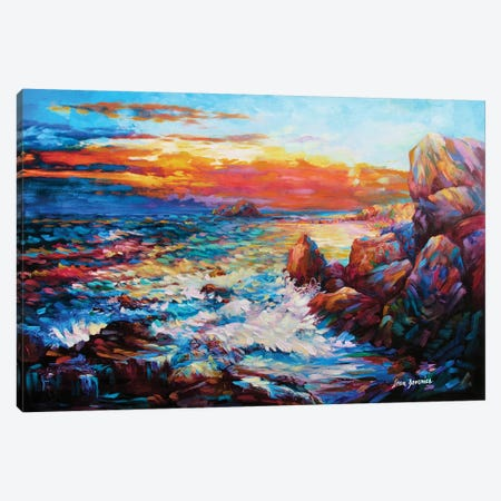 A Space Between Time & Reality Canvas Print #DVI5} by Leon Devenice Canvas Art