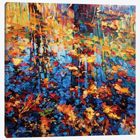 Positive Vision Canvas Print #DVI64} by Leon Devenice Canvas Art