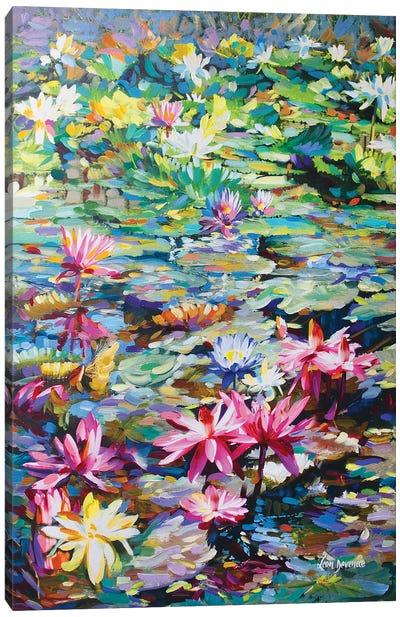 Sacred Lily Pond Canvas Art Print