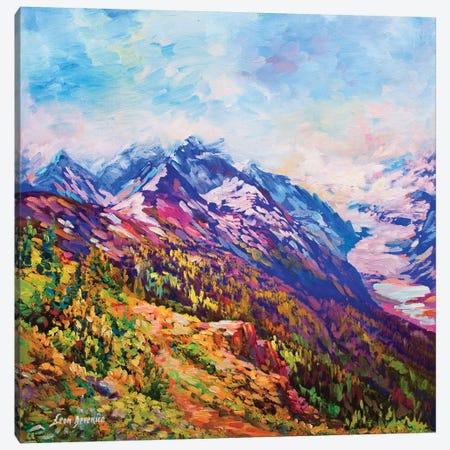 Serenity Canvas Print #DVI71} by Leon Devenice Canvas Wall Art