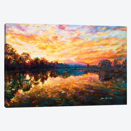 Shades Of Wisdom Canvas Print #DVI73} by Leon Devenice Canvas Artwork