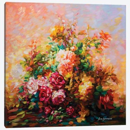 Soul Garden Canvas Print #DVI75} by Leon Devenice Art Print