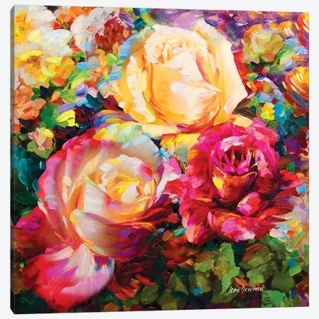 Spring Romance Canvas Print #DVI76} by Leon Devenice Canvas Art Print