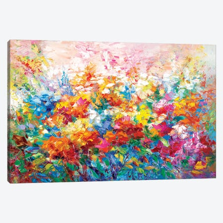 Summer Glory Canvas Print #DVI78} by Leon Devenice Canvas Art